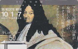 Télécarte Ancienne Japon / 330-3243 - ROI SOLEIL LOUIS XIV / Histoire Versailles France  King Japan Front Bar Phonecard - Characters