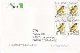 Malawi 1994 Starred Robin Bird Cover - Zangvogels
