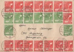 Gemeina. Brief Zehnfachfr. Mif Minr.20x 945,8x 946 Chemnitz 13.7.48 - Gemeinschaftsausgaben