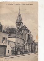 Semur Abside De L'Eglise Notre Dame - Semur