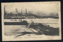 MONTLUCON  --  Le Bassin Canal Sous La Neige - Montlucon
