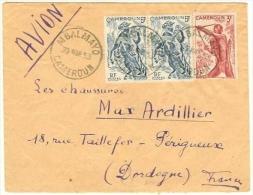 Cameroun 1953, Lettre De MBALMAYO - Cameroun (1915-1959)