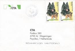 Tchad 2001 Moursal German Shepherd Dog Cover - Honden