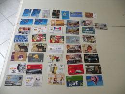 Lot De 43 Télécartes - Phonecards