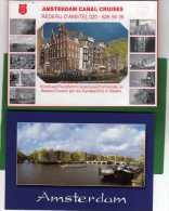 AMSTERDAM  - BELLE POCHETTE DE 10 CARTES COULEUR - 15x10.5 - Amsterdam