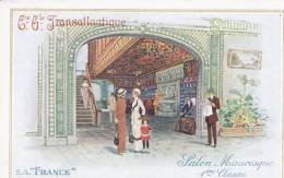 """Compagnie Générale Transatlantique. S.S.""""France"""".  Salon Mauresque 1ères Classes - Sin Clasificación"""