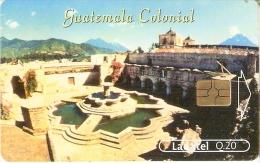 TARJETA DE GUATEMALA DEL TEMPLO Y CONVENTO DE LA MERCED - Guatemala