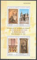 Spain 1997 Art Painting Statue Cathedral Mi Bl. 70 MNH (**) - Blocchi & Foglietti