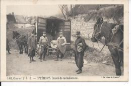 OFFEMONT - Convoi De Ravitaillement - Guerre 1914-15 - Offemont