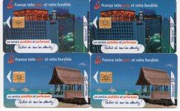 France Télécom Et Votre Buraliste - 50 Unités - Lot De 4 Cartes - Année 2000-2001 - Collections