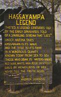 Legend Of The Hassayampa Memorial Wickenburg Arizona - Monuments