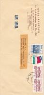 00872 Carta Taipei A Benidorm-Alicante España - 1945-... République De Chine