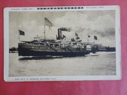 Transport--Ships--Steamer Good Time--not Mailed--PJ 205 - Paquebots