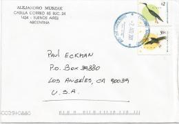 Agentina 2001 Buenos Aires Toucan Ramphastos Toco Olivaceous Cormorant Phalacrocorax Brasilianus Bird Cover - Cuckoos & Turacos