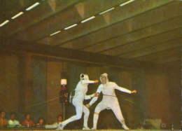 Romania-Postcard Unused-Fencing-2/scans - Aviron