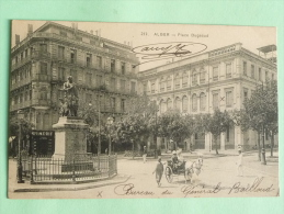 ALGER - Place BUGEAUD - Algiers