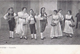 NAPOLI28  --  NAPOLI   --  TARANTELLA  --  1917 - Napoli