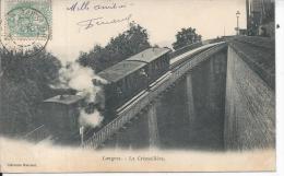LANGRES - La Crémaillère - Train - Langres