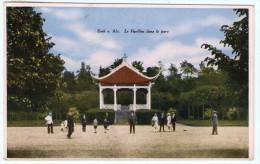 LUXEMBOURG - ESCH SUR ALZETTE LE PAVILLON DANS LA PARC 1934 - Esch-Alzette