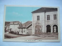 Ma Réf: 43-16-3.       DELUZ      La Mairie.   ( Colorisée ). - France