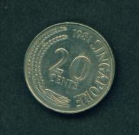 SINGAPORE - 1981 20c Circ. - Singapore