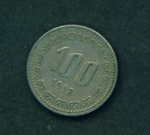 SOUTH KOREA - 1973 100w Circ. - Korea, South