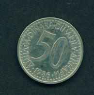 YUGOSLAVIA - 1986 50p Circ. - Yugoslavia
