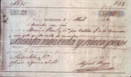 E4470 CUBA SPAIN 1865 SUGAR CENTRAL INGENIO GUERRERO ESPAÑA - España
