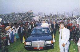 VATICANO - VIAGGIO DI PAPA GIOVANNI PAOLO II IN AFRICA - 1993 - Vaticano