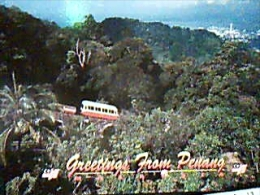 MALESIA PENANG HILL TRENO TRAIN CREMAGLIERA  FUNICOLAR N1990 EG516 - Malesia