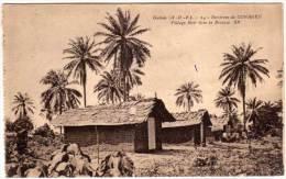 Environs De CONAKRY  - Village Noir Dans La Brousse  (58650) - Guinée