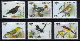 BHUTAN - Marken, Vögel  (tie1366) - Unclassified