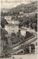 Imperia Porto Maurizio Ville Con Poesia Carducci - Imperia