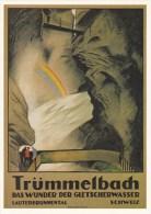 REPRO PLAKAT KARTE D´AFFICHE TRÜMMELBACH - BE Bern