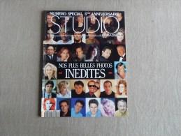 Studio Magazine N°64 Spécial 5e Anniversaire 1992. Photos Inédites Pub Lucky Strike . Voir Sommaire. - Cinéma