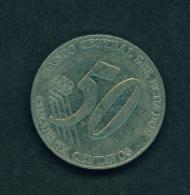 ECUADOR -  2000 50c Circ. - Ecuador