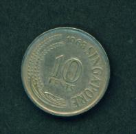 SINGAPORE -  1968 10c Circ. - Singapore