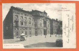 HA611, Torino, Précurseur, Circulée 1902 - Palazzo Carignano