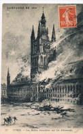 Campagne De 1914 277  Ypres  Les Halles - Guerra 1914-18