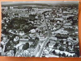 V09-25-c-doubs-en Avion Au Dessus De-montbeliard-vue Generale--carte Photo - Montbéliard