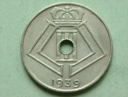 1939 VL/FR - 10 Cent. ( Morin 466 - For Grade, Please See Photo ) !! - 1934-1945: Leopold III