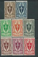 Cameroun N° 249 / 62 X Série De Londres, Les14 Valeurs Trace De Charnière Sinon TB - Cameroun (1915-1959)