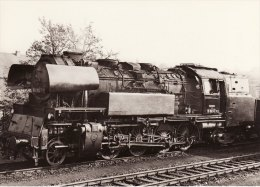 Railway Loco Data Card German DR 6510 Class 651047-3 2-8-4T East Germany - Picture Cards