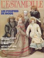 L´ESTAMPILLE N°156 -POUPEES DE MODE/STATUETTES IVOIRE DE COUSTOU/TERRES VERNISSEES/GRAVURE 17e/MEUBLES BRESSANS - Art