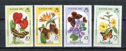 Anguilla 1982. Yvert 441-44 ** MNH. - Anguilla (1968-...)