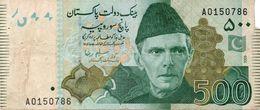 PAKISTAN 500 RUPEES 2012 P NEW UNC - Pakistan
