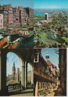 8 POSTKARTEN : HAMBURG - DEUTSCHLAND  (Sehe 3 Scans) - Postkaarten