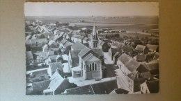 CPM EN AVION AUDESSUS DE... EPIEDS EN BEAUCE (Loiret) - Otros Municipios