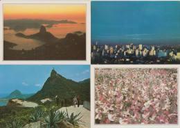 7 POSTCARDS : BRAZIL / BRASIL  (See 3 Scans) - Postkaarten