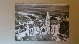 CPM EN AVION AUDESSUS DE... EPIEDS EN BEAUCE (Loiret) L'église - Otros Municipios